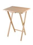 Pliez la table capable Photo stock