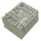plika dolarów ogromny skarbiec my ilustracji