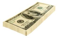 plika pieniądze Zdjęcia Royalty Free