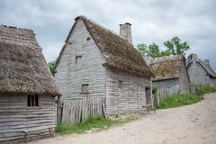 Plimoth Plantation, MA, USA Stock Photography
