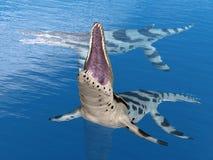 Pliosaur Kronosaurus Stock Photography