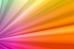 Plisados del arco iris Fotos de archivo libres de regalías