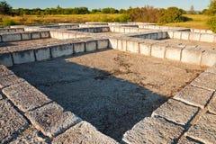 Pliska Ruins Royalty Free Stock Image