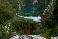 Plitvica.National πάρκο Στοκ φωτογραφίες με δικαίωμα ελεύθερης χρήσης
