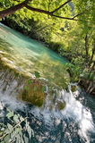 plitvica waterfall Royaltyfria Bilder