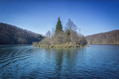 Plitvice国立公园,杰作自然4 库存照片