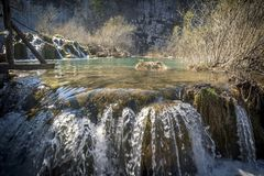 Plitvice国立公园,杰作自然7 库存图片