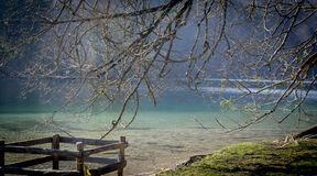 Plitvice国立公园,自然杰作  免版税库存图片