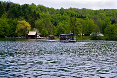 Plitvice湖,克罗地亚欧洲 图库摄影