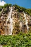 Plitvice湖,克罗地亚 库存图片
