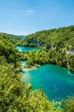 Plitvice湖,克罗地亚 免版税库存图片