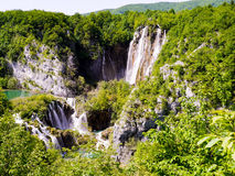 Plitvice瀑布 库存图片