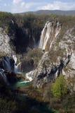 plitvice λιμνών της Κροατίας Στοκ Φωτογραφίες