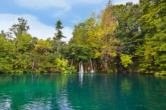 plitvice λιμνών της Κροατίας Στοκ εικόνα με δικαίωμα ελεύθερης χρήσης
