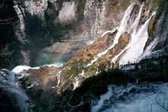 plitvice λιμνών Στοκ Φωτογραφίες
