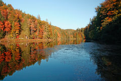 plitvice λιμνών Στοκ Φωτογραφία