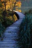 Plitvice το φθινόπωρο Στοκ Εικόνες