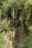 plitvice красивейших течений свежее зеленое окружило водопады водопада вегетации Стоковые Изображения RF