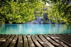 plitvice национального парка озер Хорватии Стоковые Фотографии RF