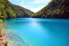 plitvice национального парка озер Хорватии стоковое фото rf