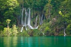 plitvice национального парка озер Стоковое Изображение