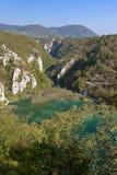 plitvice озера Хорватии Стоковое Изображение