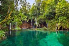 plitvice озер Хорватии стоковые изображения rf