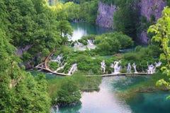 plitvice озер Стоковая Фотография RF