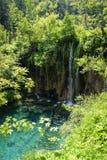 plitvice парка Хорватии европы водопад самого большого национального самого старого юговосточый Стоковые Изображения RF