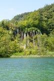 plitvice парка Хорватии европы водопад самого большого национального самого старого юговосточый Стоковое фото RF