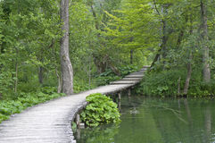 Plitvice. Lakes National Park, Croatia stock photography