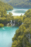 Plitvice. Lakes National Park, Croatia Royalty Free Stock Images