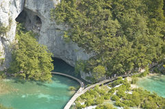 Plitvice. Lakes National Park, Croatia stock image