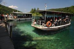 Plitvice湖 库存照片