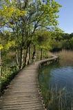 湖plitvice 库存图片