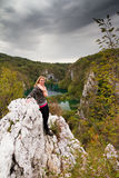 Plitvice adventure Royalty Free Stock Image
