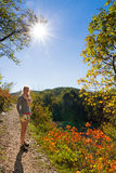 Plitvice autumn hiking Stock Photos