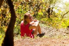 Plitvice autumn relax Stock Photo