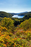 Plitvice autumn view Stock Images