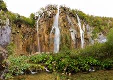 Plitvice big waterfall Stock Photography