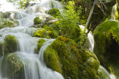 Plitvice cascade Stock Images