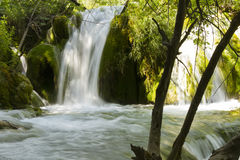 Plitvice cascade Royalty Free Stock Images