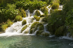 Plitvice cascade Royalty Free Stock Photos