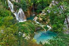 Plitvice Croatia Waterfalls Stock Photos