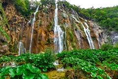 Plitvice Croatia Waterfalls Stock Image