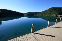 plitvice de lac de croazia Photographie stock