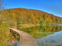 plitvice de stationnement national de lacs de korenica de la Croatie Photographie stock