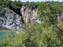 plitvice de stationnement national de lacs de la Croatie photo libre de droits