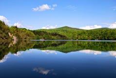 plitvice de stationnement national de lacs de la Croatie images libres de droits