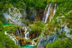 plitvice för croatia lakesnationalpark Royaltyfri Bild